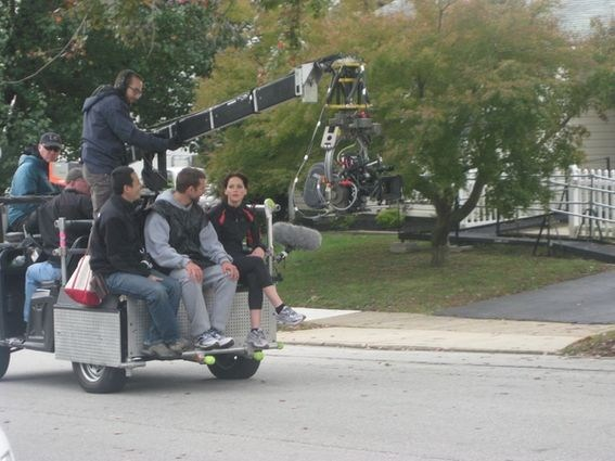 Silver Linings Playbook Behind the Scenes Photos & Tech Specs