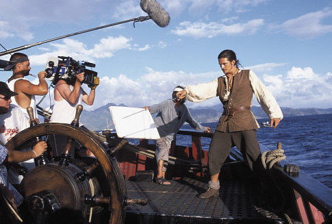 Pirates of the Caribbean: The Curse of the Black Pearl Behind the Scenes Photos & Tech Specs