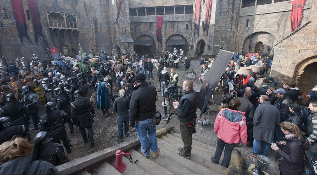 Snow White and the Huntsman Behind the Scenes Photos & Tech Specs