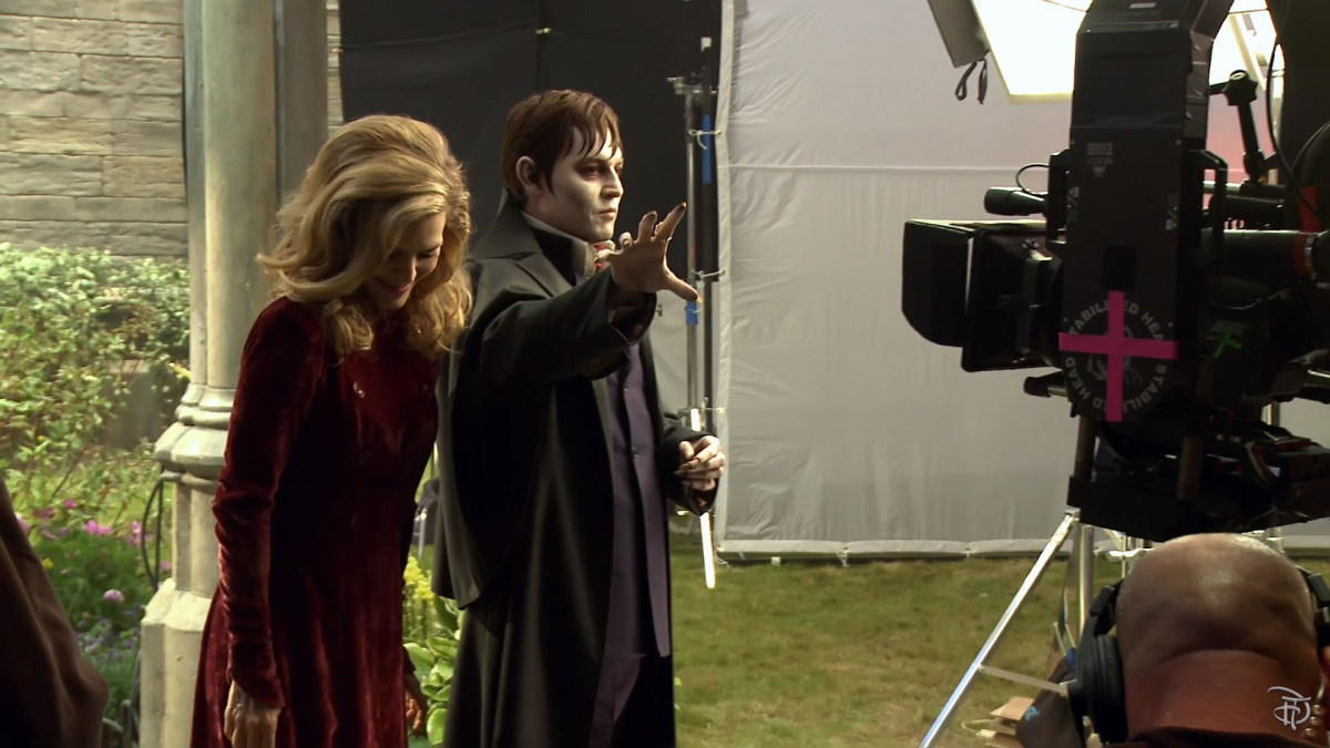 Dark Shadows Behind the Scenes Photos & Tech Specs