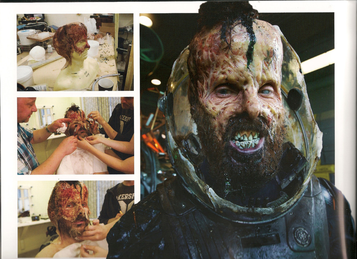 Prometheus Behind the Scenes Photos & Tech Specs