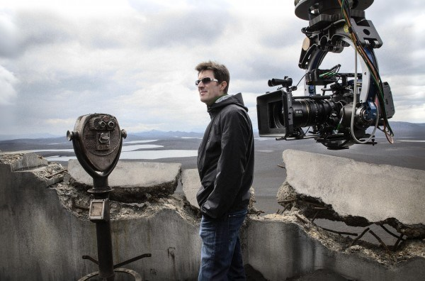 Oblivion Behind the Scenes Photos & Tech Specs