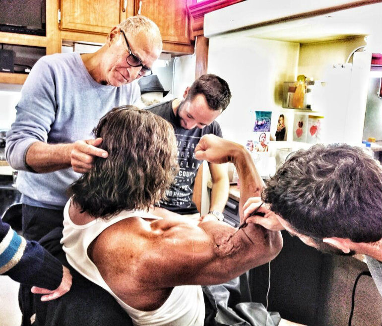 Hercules Behind the Scenes Photos & Tech Specs