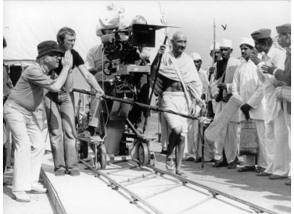 Behind the scenes of Gandhi (1982) - Behind the Scenes photos