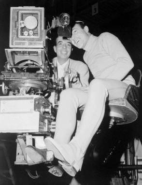Behind the scenes photo of An American in Paris (1951) - Behind the Scenes photos