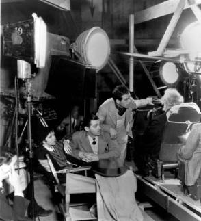 Behind the scenes photo of the It Happened One Night 1934