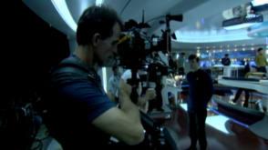 Star Trek (2009) - Behind the Scenes photos