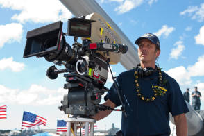 Peter Berg & Panavision – Battleship (2012) - Behind the Scenes photos