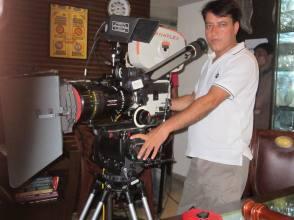 on the set Hindi movie #CLUB60 - Behind the Scenes photos
