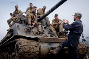 Fury - Behind the Scenes photos