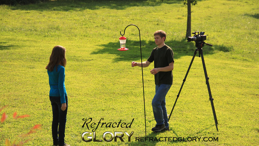 "Directing Hummers : ""Refracted Glory"" BTS Behind the Scenes"