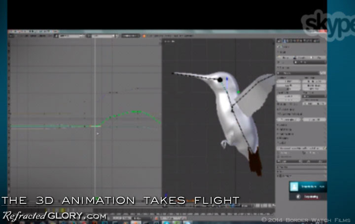 "Animating : ""Refracted Glory"" BTS Behind the Scenes"