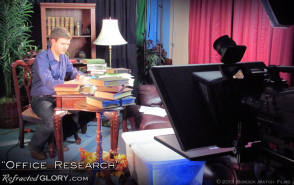 "The Research : ""Refracted Glory"" BTS - Behind the Scenes photos"