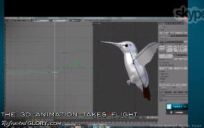 """Animating : """"Refracted Glory"""" BTS - Behind the Scenes photos"""
