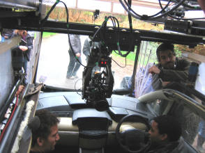 Children of Men – One Take Car Scene - Behind the Scenes photos