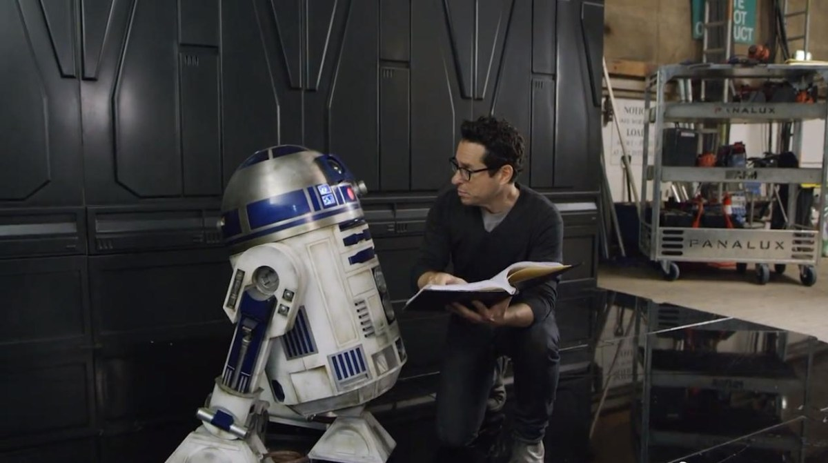 Star Wars Episode VII: The Force Awakens (2015) Behind the Scenes