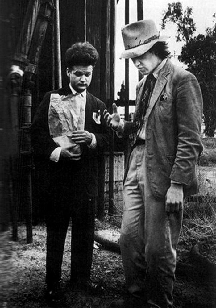 A Still from the Film Eraserhead (1977) Behind the Scenes