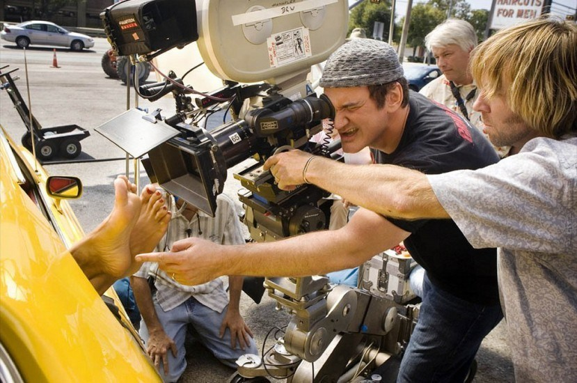 Filming Death Proof (2007) Behind the Scenes