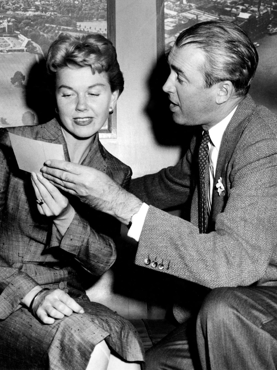 Doris & James : The Man Who Knew Too Much (1956) Behind the Scenes