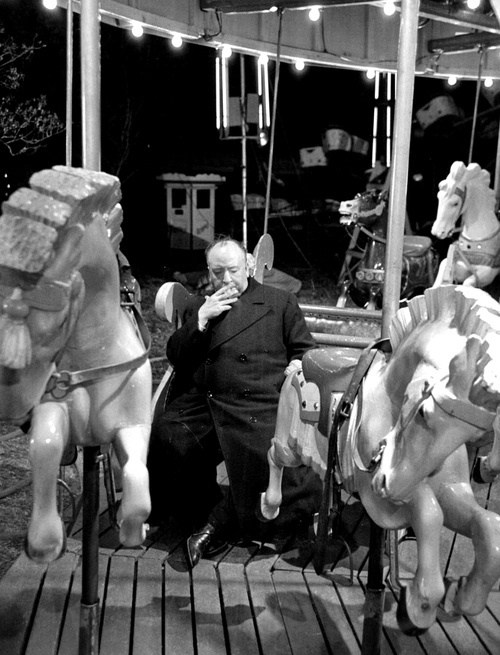 Hitchcock Riding a Merry-Go-Round ? Behind the Scenes