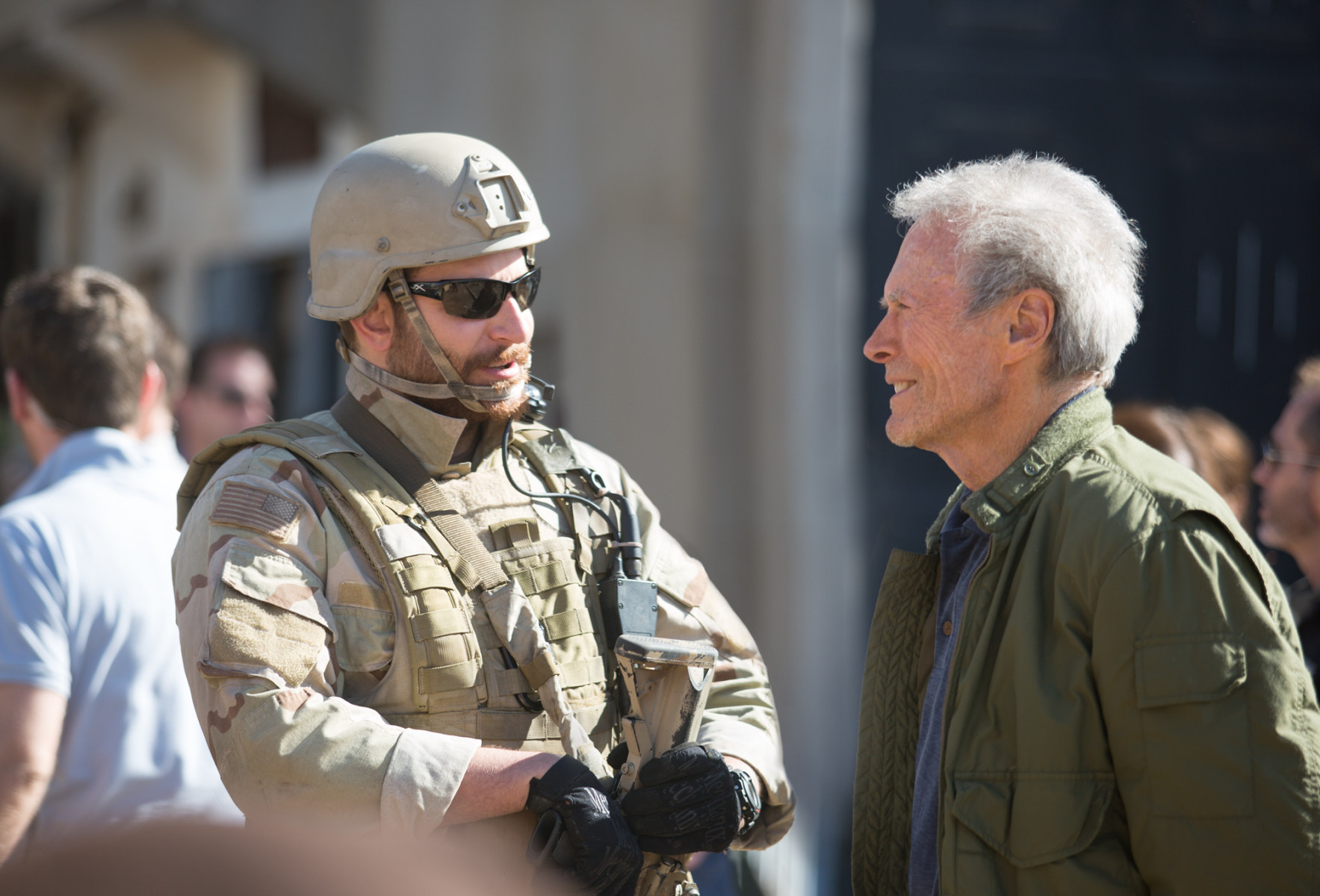 American Sniper Behind the Scenes Photos & Tech Specs