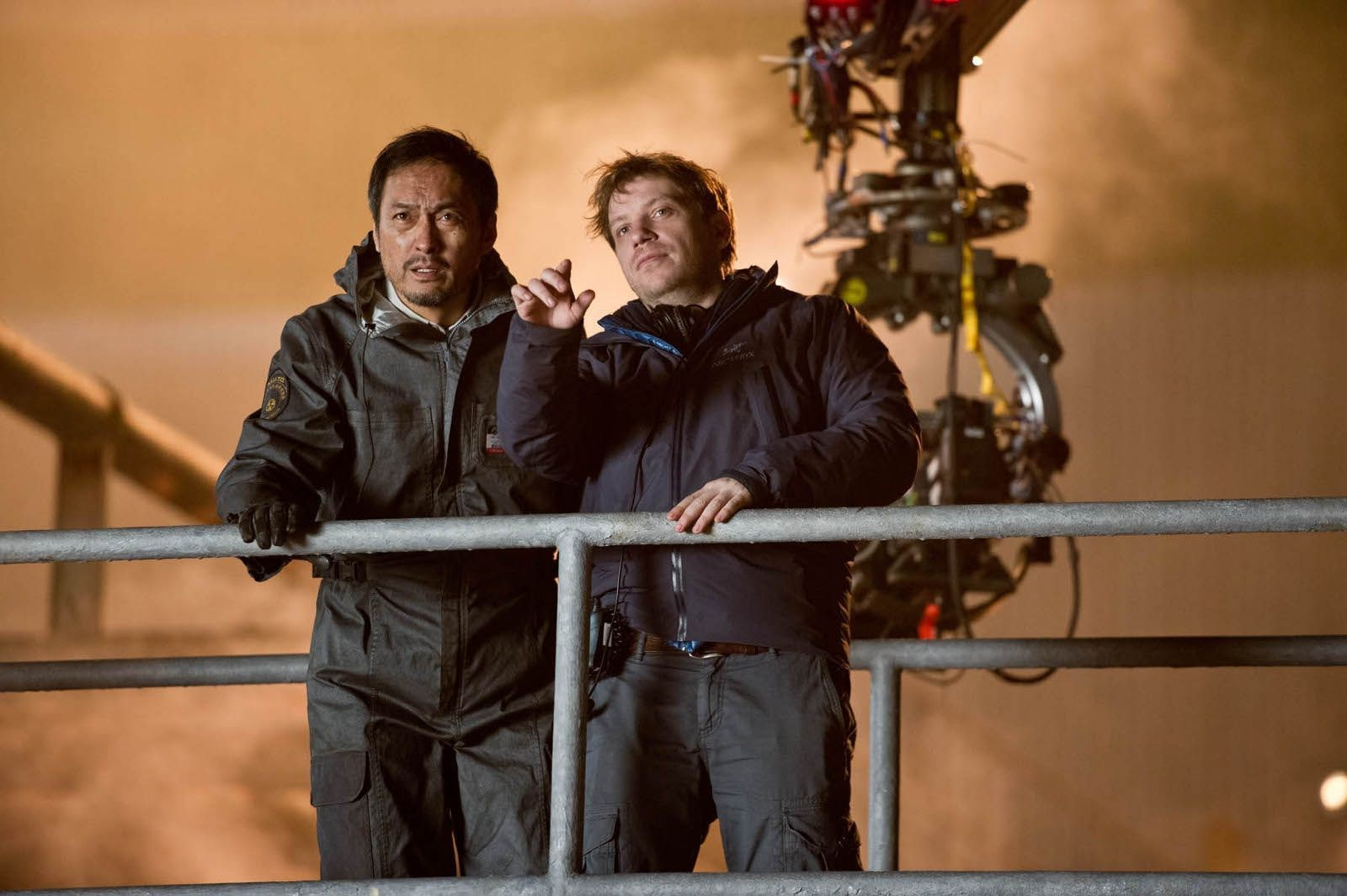 Godzilla Behind the Scenes Photos & Tech Specs