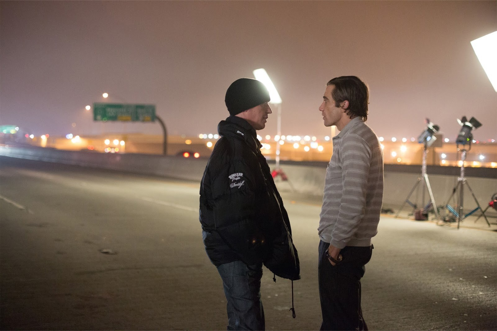 Nightcrawler Behind the Scenes Photos & Tech Specs