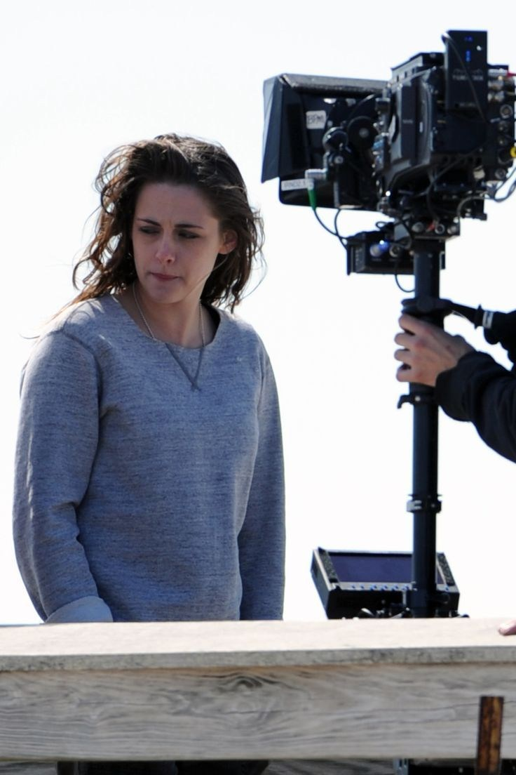 Kristen Stewart in Still Alice (2014) Behind the Scenes