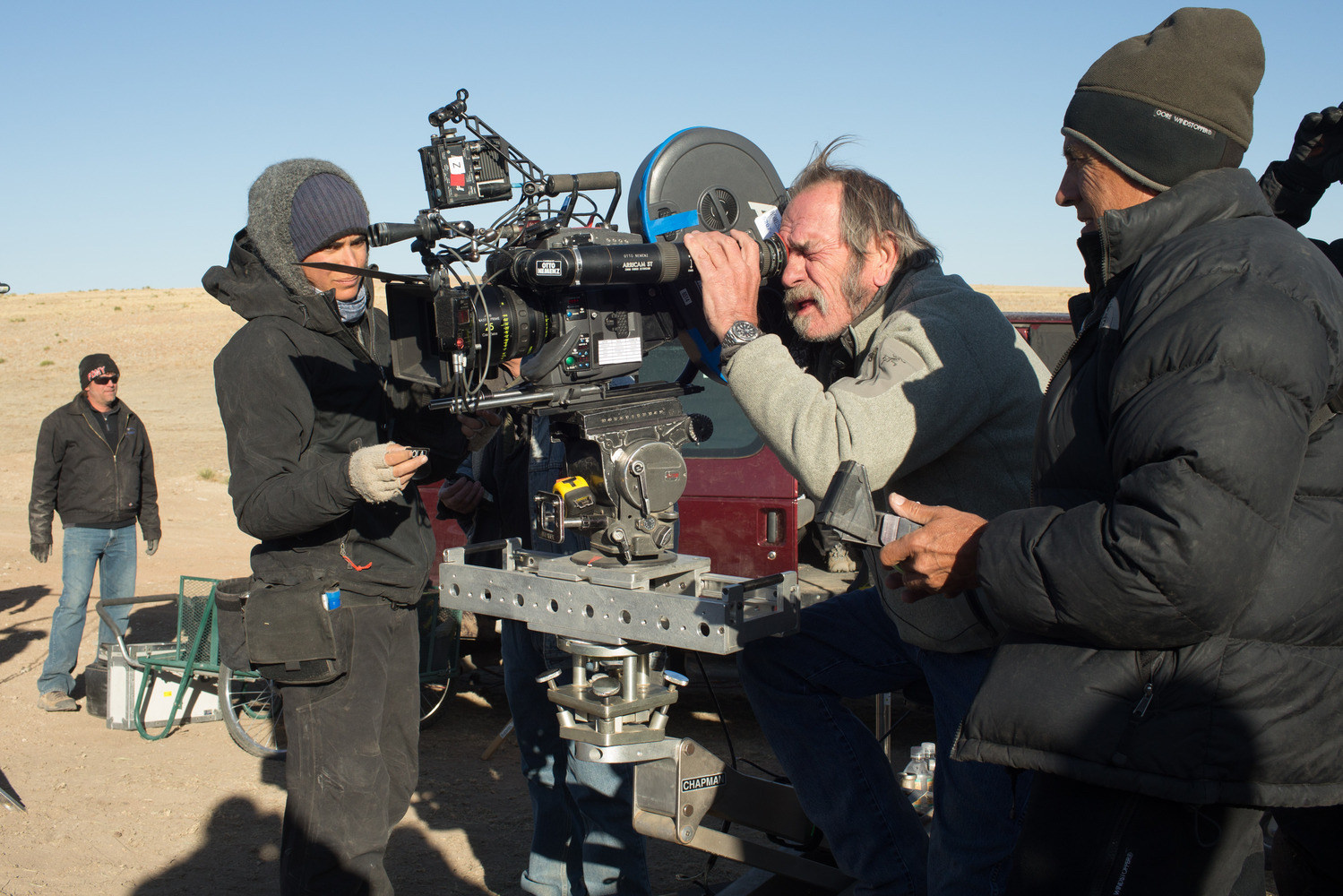 The Homesman Behind the Scenes Photos & Tech Specs