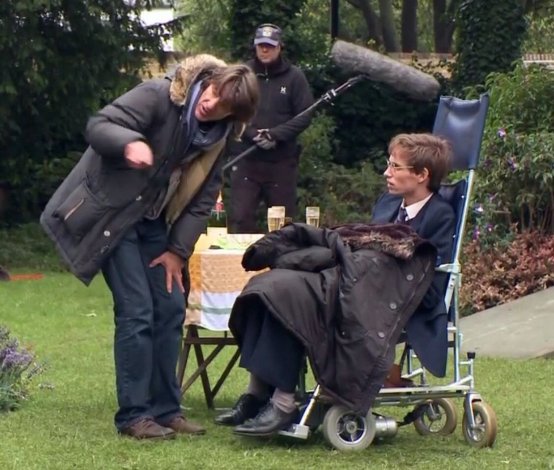 James Marsh Directs Behind the Scenes