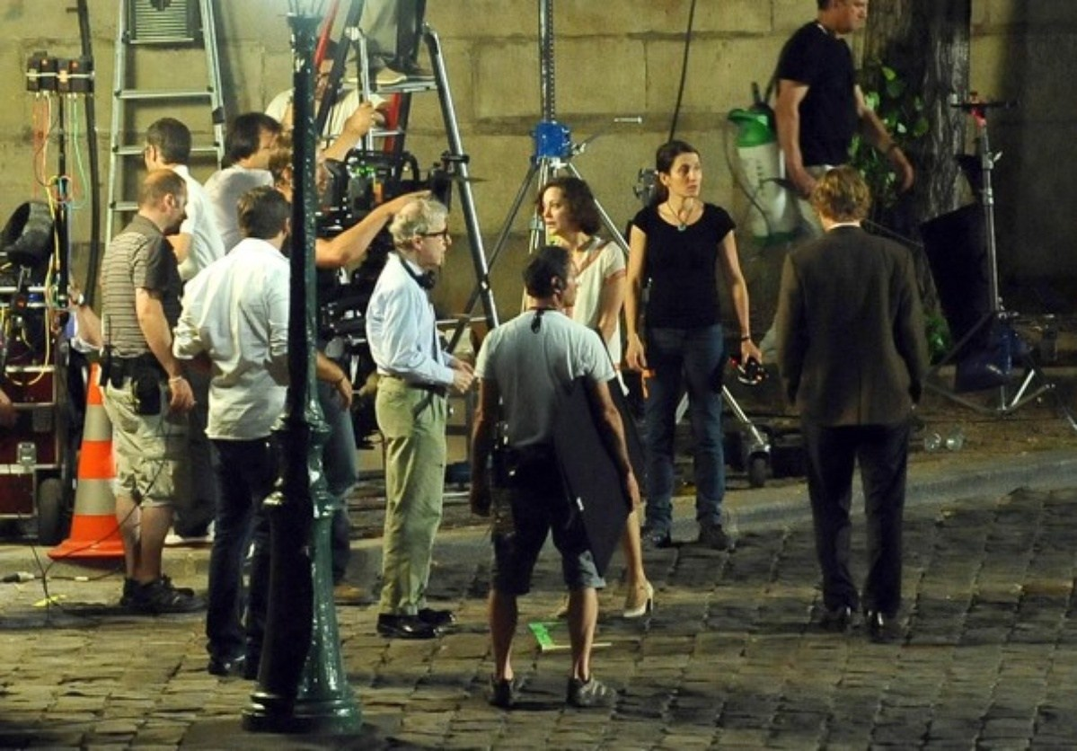 Midnight in Paris Behind the Scenes Photos & Tech Specs