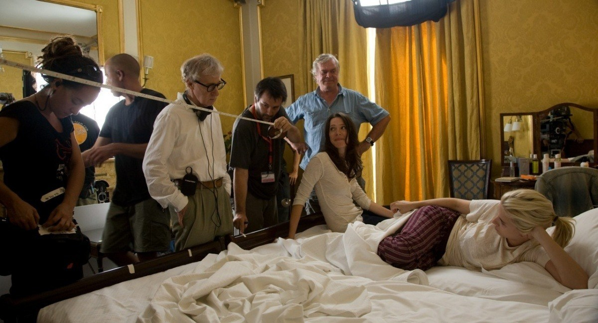 On the Set of Vicky Cristina Barcelona (2008) Behind the Scenes