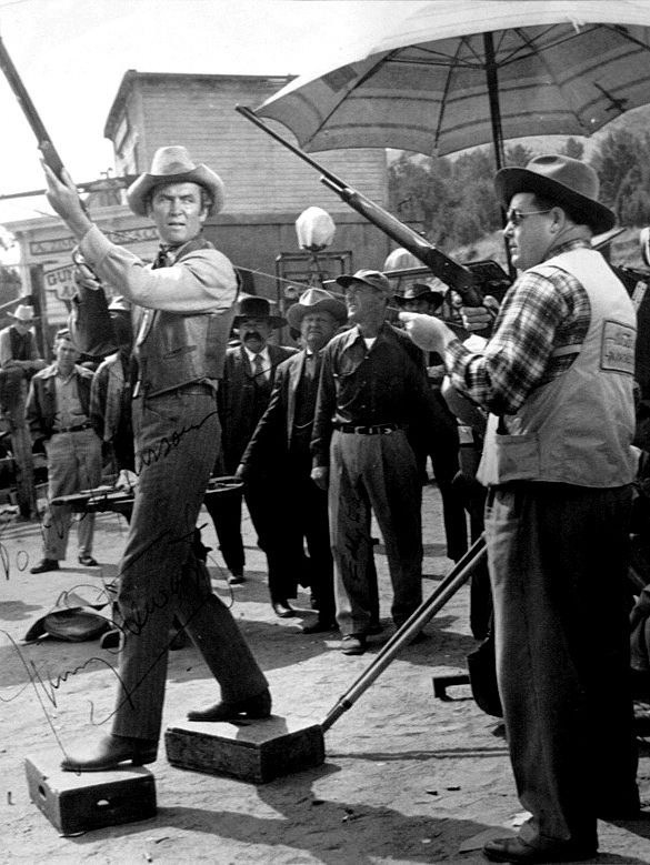 Filming Winchester '73 (1950) Behind the Scenes