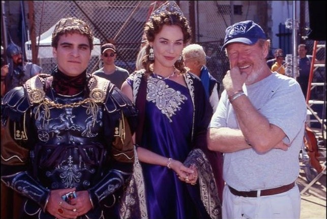 Joaquin, Connie & Ridley : Gladiator (2000) Behind the Scenes