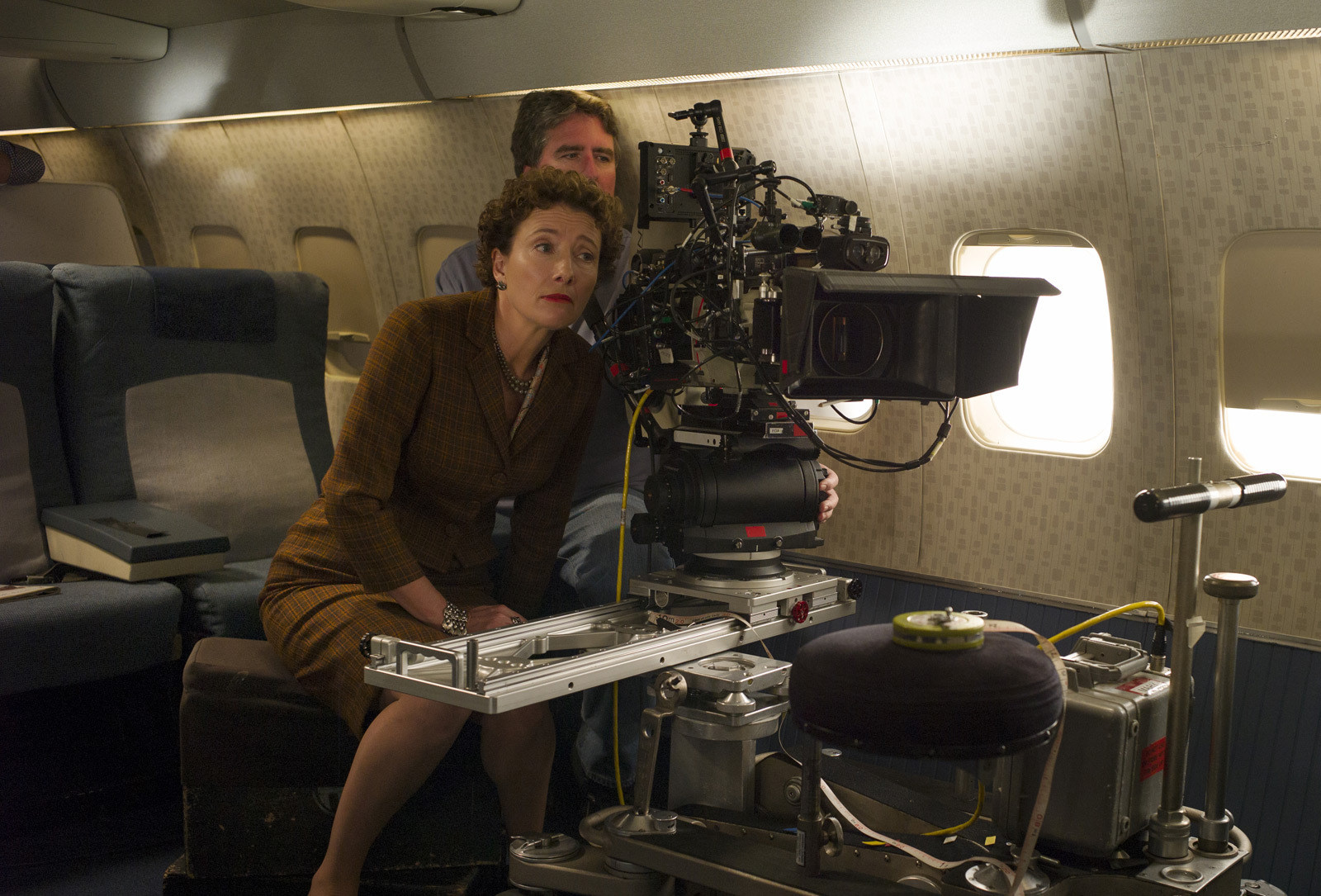 Emma in Saving Mr. Banks (2013) Behind the Scenes