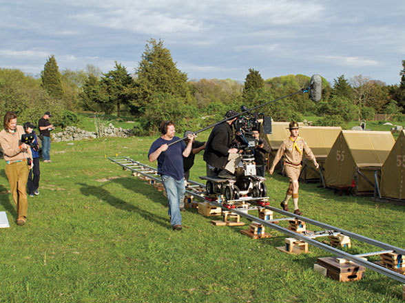 Filming Moonrise Kingdom (2012) Behind the Scenes