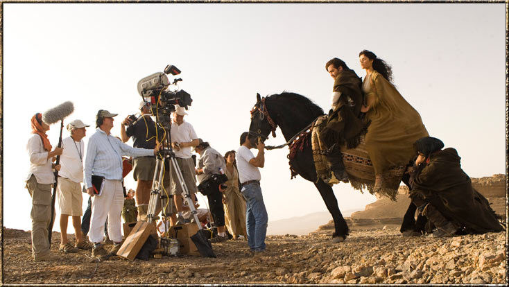 Getting Ready to Ride a Horse – Prince of Persia: The Sands of Time (2010) Behind the Scenes