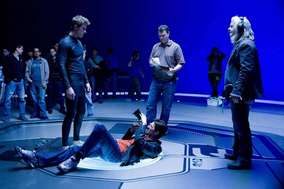 On the Set of Tron: Legacy (2010) Behind the Scenes