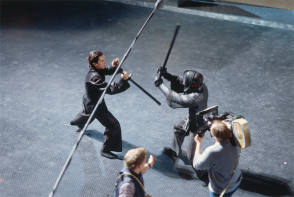 Fight Scene in Equilibrium (2002) - Behind the Scenes photos