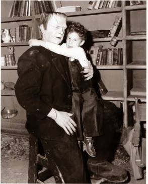 Bela Lugosi and His Son - Behind the Scenes photos