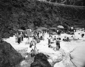 From the Film From Here to Eternity (1953) - Behind the Scenes photos