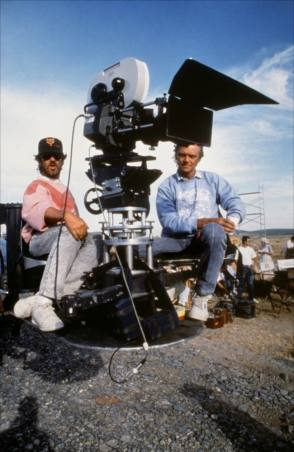 On the Set of Empire of the Sun (1987)