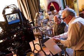 Hugo (2011) - Behind the Scenes photos