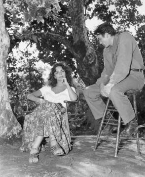 Jennifer & Gregory : Duel in the Sun (1946) - Behind the Scenes photos