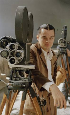 Leo in The Aviator (2004) - Behind the Scenes photos