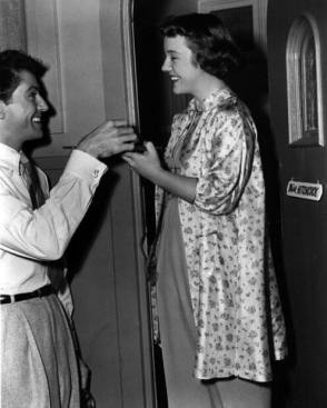 Farley & Patricia : Strangers on a Train (1951) - Behind the Scenes photos