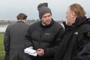 John & Brendan : Calvary (2014) - Behind the Scenes photos