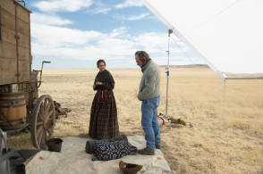 The Homesman (2014) - Behind the Scenes photos