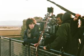 Filming Under the Skin (2103) - Behind the Scenes photos