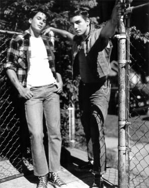 Rob & Tom : The Outsiders (1983) - Behind the Scenes photos